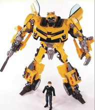 Transformation Robot Human Alliance Bumblebee and Sam Action Figures Toys for classic toys anime figure cartoon boy toy