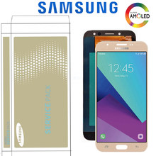 "Original 5.5"" Super Amoled LCD For Samsung Galaxy J7 Pro 2017 J730 J730F Display Touch Screen Digitizer Assembly Replacement(China)"