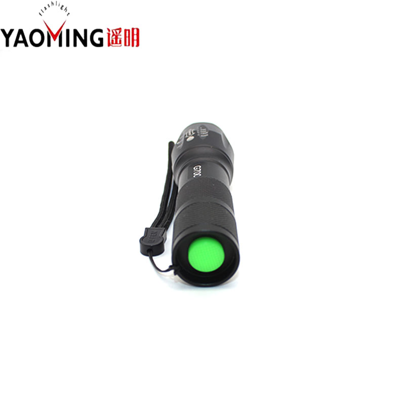 Led Flashlight T6 LED Zoom Torch Light Caming Charger Car Clip 3*AAA Holder With Box Zoomable Adjustable U2 2000 Lumen 5 Modes