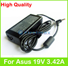 19V 3.42A 65W AC laptop adapter power supply for Asus R405 R409 R411 R412 R455 S401 S405 S40C S46 U40 U41 U45 U47 U48C charger