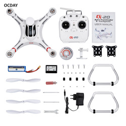 Ocday rc helicopter remote control white 2 4ghz 6 axis system auto pathfinder rtf quadcopter for.jpg 250x250