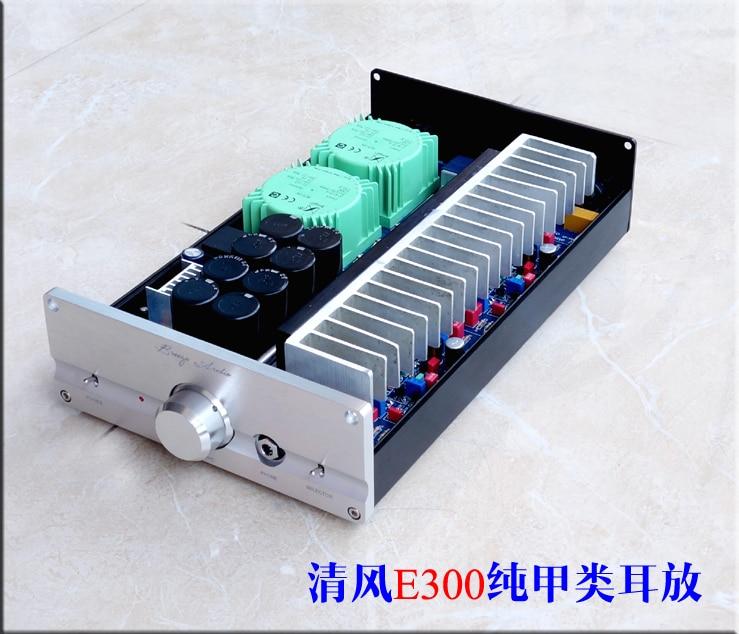 Готовый чистый усилитель класса A стерео аудио усилитель с входом XLR/RCA, вдохновленный электрокомпанеитом EC4.8