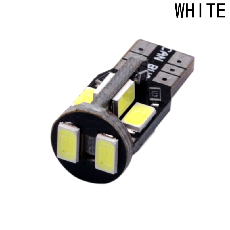 T10 W5W Canbus 10 SMD LED 5630 5730 Car Auto Width Lamp License Plate Light 12V Car Auto Bulbs Indicator Light