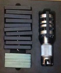 أدوات جلخ المهنية حصى مزدوج طحن شحذ أدوات ثقب عميق تتحمل اسطوانة هورنينج رئيس (60 مللي متر-90 مللي متر)