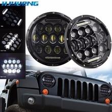 "Hjyuing para UAZ Hunter Suzuki Samurai LED proyector faro 7 ""LED faro lámpara de 7 pulgadas para Lada 4x4 urbano Niva"