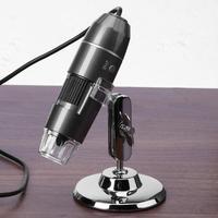 1000X 8 LED 200W High Resolution Zoom Digital Electronic Microscope Handheld USB Endoscope Camera Microscopio Magnifier