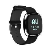 2017 Bluetooth Smart Handgelenk P2 Herzfrequenz Blutdruckmessgerät Schlaf-monitor Sport Fitness tracker Uhr Schrittzähler smart band