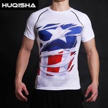 T-shirt Captain America Perang