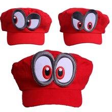Горячая новинка Супер Марио Одиссея шапка s шапка Марио голова Косплей шляпа Досуг Ретро шляпа от солнца