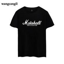 Marshall camiseta hombres mujeres Logo amplificadores amplificación Guitar  Hero Hard Rock Cafe música camiseta Tops moda 4244dd5535bb2