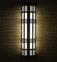 Китайский стиль Наружное освещение большой Tall T5 двор бра лобби Путь Водонепроницаемый Освещение пейзаж газон, сад, свет