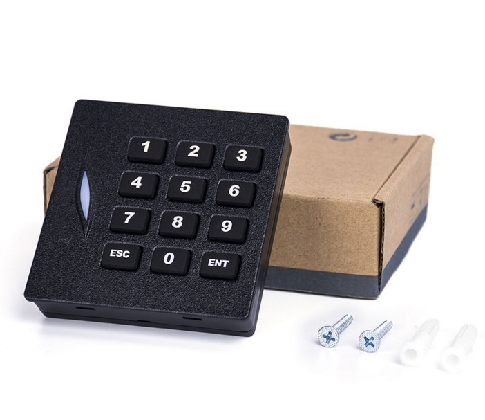 WG26 ,EM card reader, KR102E keypad RFID Card Reader/ 125khz Proximity Card Reader usb pos numeric keypad card reader white