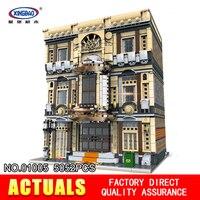 XingBao 01005 5052 шт. блок подлинной творческой MOC город серии морской музей набор строительных блоков Кирпичи игрушки модель подарки