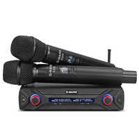 Fast shipping G-MARK G220 Wireless Microphone UHF frequency karaoke mic Top Quality bar Party Video