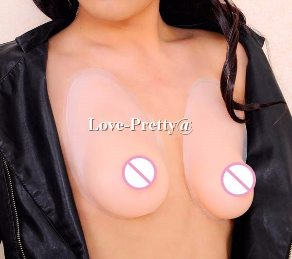 1 pair 1000 g D cup cheap hot sale silicone breast boobs realistic artificial breasts self