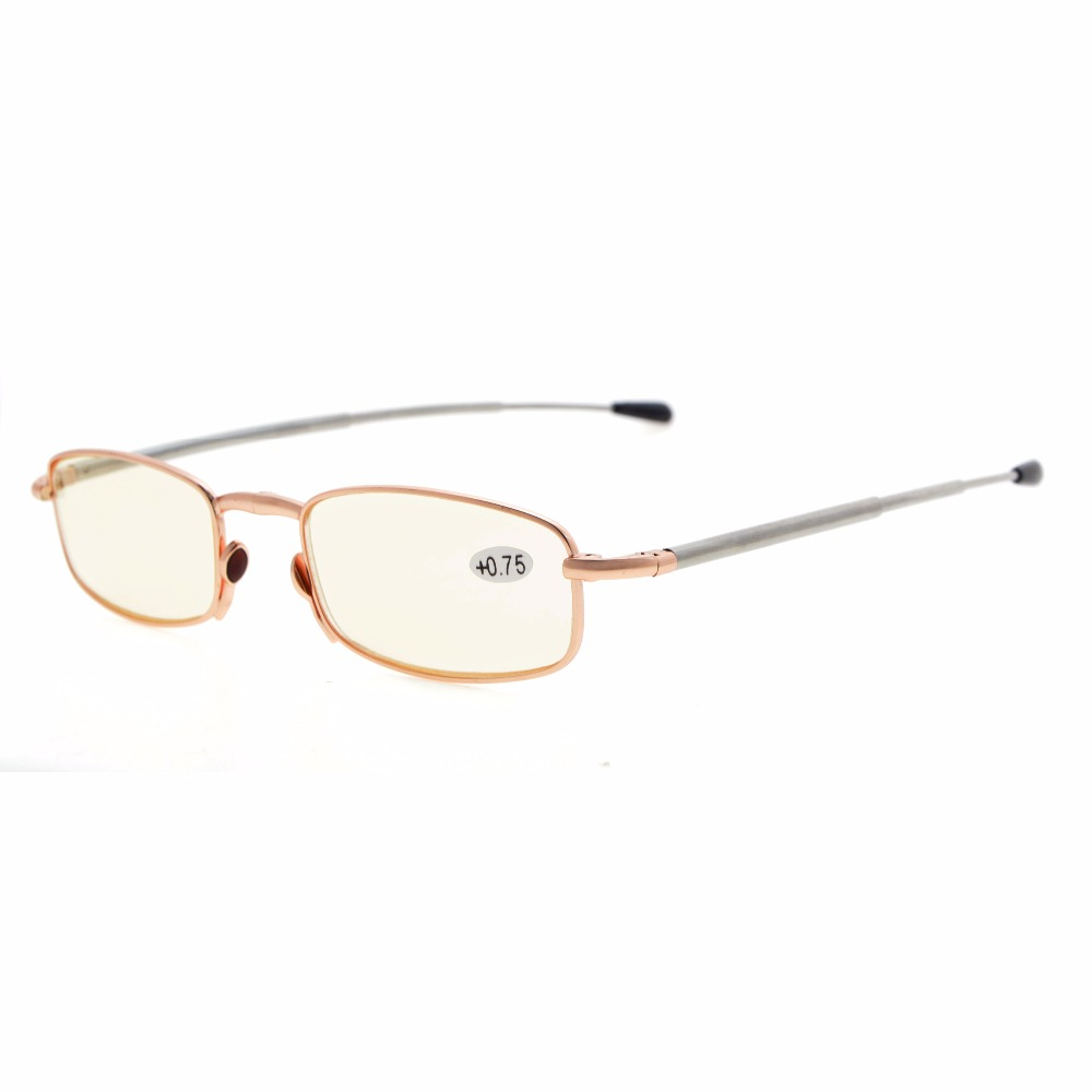 1b2edc53698 R15080 Mix Eyekepper 4 Pack Telescopic Arms Folding Reading Glasses With  Flip Top Case Included Computer Glasses +0.50 +4.00-in Reading Glasses from  Apparel ...