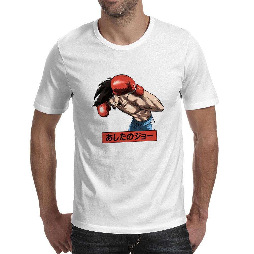 Creative Pattern Tomorrow 39 s Joe T Shirt Anime Cartoon Design Punk Skate O neck Cotton T shirt Style Casual Print Unisex Tee in T Shirts from Men 39 s Clothing