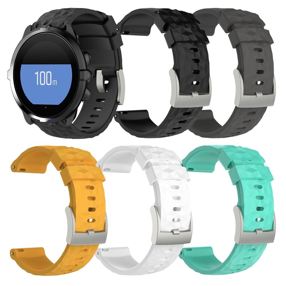 XBERSTAR Silicone Sports Smart Watch Wristband Strap for Suunto Spartan Sport Wrist HR Baro Multisport GPS Watch Band Bracelet