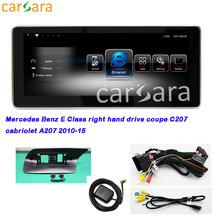 цена на Deals RHD OEM Navigator Upgraded 10.25 Android Screen for Ben z E Class Coupe C207 Cabriole A207 2010 2011 2012 2013 2014 2015