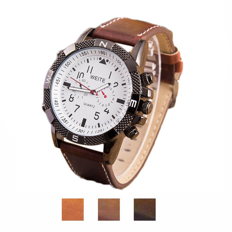 Quartz Watch 2016 Men's Business Casual Quartz Watch Top Brand Luxury Famous Wristwatches Male Clock Business Fashion Hot Sale