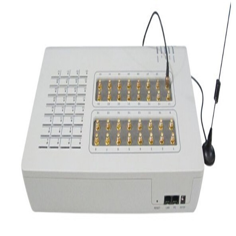 GOIP-32 Quad band VOIP GSM Gateway 32 Channel GOIP support IMEI change / sim bank /sms send/remote manage 2019 free server remote control manager voip product smb128 sim bank gateway box