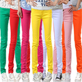 Women's Candy Pants Pencil Trousers  Stretch Pants For Women Slim Ladies skinny Jean Trousers Female long thin pants