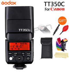 Godox Flash TT350 TT350C GN36 2.4G TTL Camera Flash Speedlite for Canon free shipping + Gift