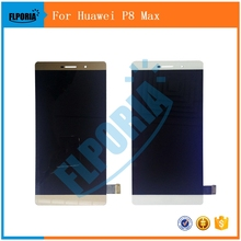 For Huawei P8 Max /P8max /P 8 max LCD Display + TouchScreen Digitizer Assembly Replacement Parts 2 Colors Support wholesale