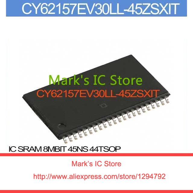 CY62157EV30LL-45ZSXI IC SRAM 8MBIT 45NS 44TSOP 62157 CY62157 1PCS