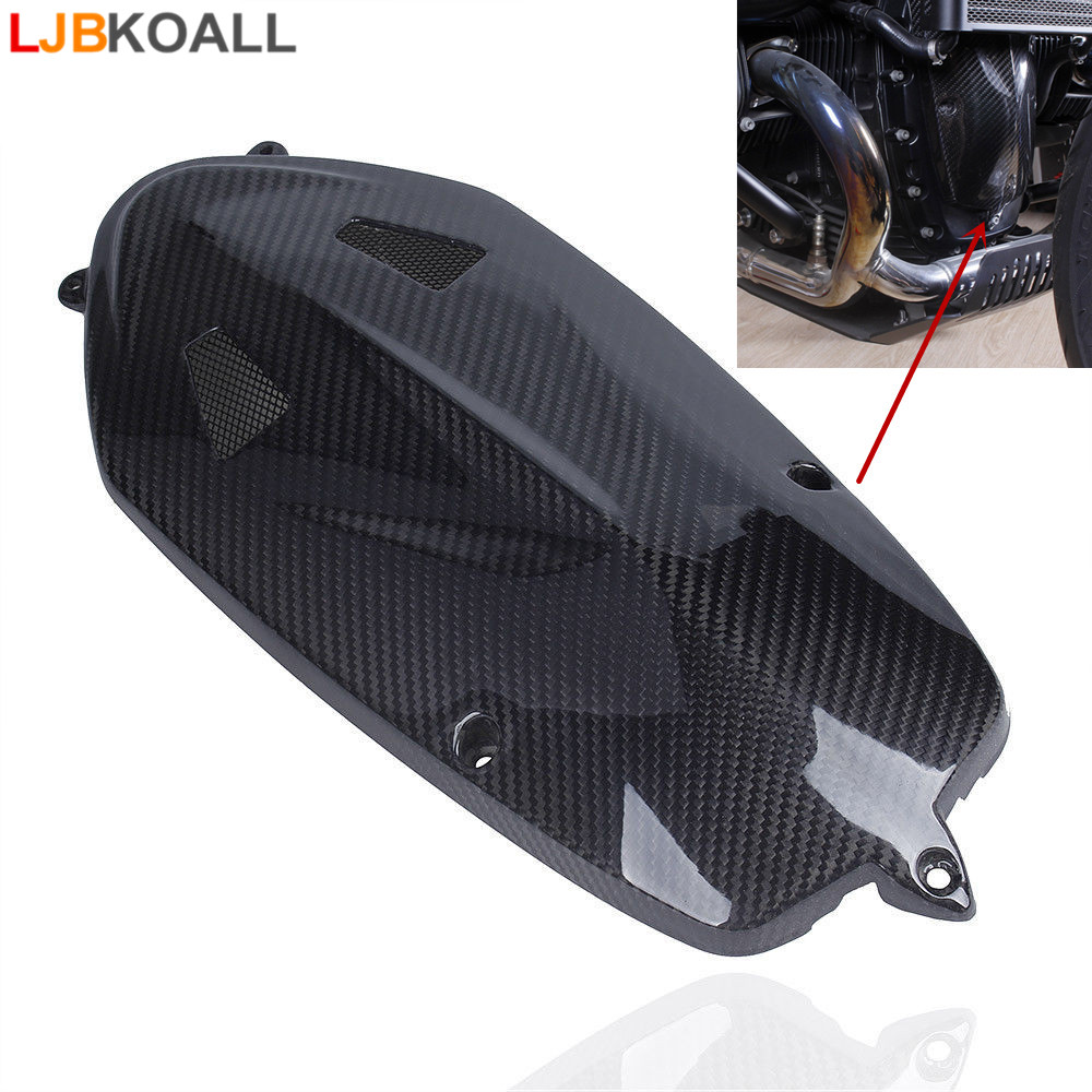 For BMW R NINE T Motor Radial Breast Plate Boxer Breast Engine Case Cover R Nine T 2013 2014 2015 2016 2017 Real Carbon Fiber свитер женский r t w rtwm23817e rtw 2014 rtwm23817