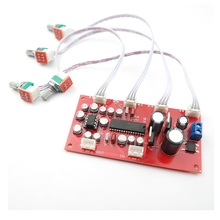 UPC1892CT NE5532 Tone แผ่นควบคุมระดับเสียง Preamp เครื่องขยายเสียง treble bass balance volume ปรับ