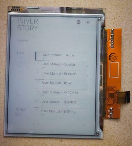 6 pouce écran lcd d'affichage Pour Pocketbook Pro 612 602 pour Wexler E6001 explay TXT-Livre B65 Lbook V3 + lumière Lbook V3 +