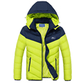 Winter Jacket Men Thicken Long Warm Coats Famous Brand Clothing With Hood Down Jacket Outerwear Parka Jacket Men DJ003