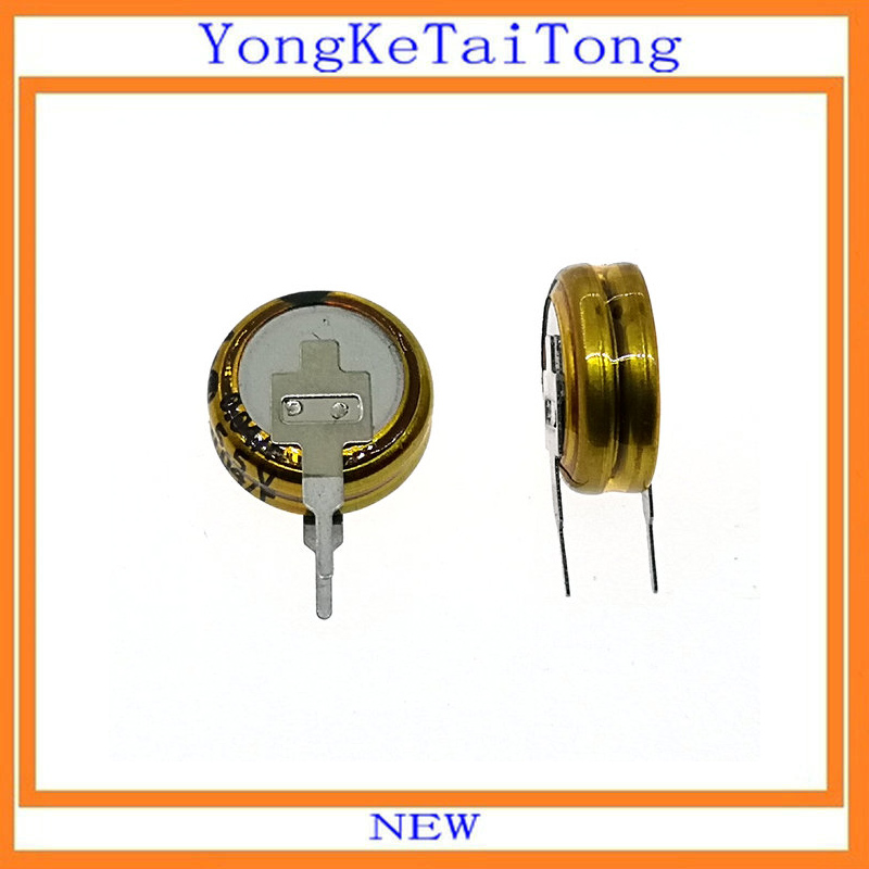 2PCS 2.7V 1F Farad Ultracapacitor 1F 2.7V Supercapacitor Farad Capacitor NEW