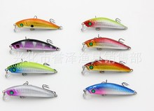 200pcs/lot Factory direct wholesale new color fishing bait fish road and a Mino simulation road sub 7cm/8.5g(China)