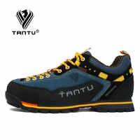 TANTU 2019 zapatos de senderismo impermeables zapatos de escalada de montaña Botas de senderismo al aire libre zapatillas deportivas de senderismo hombres caza senderismo