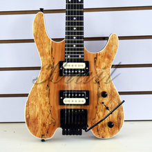 Headless guitar 6 string headless electric guitar steinberg guitar mahogany wood maple neck free shipping(China)