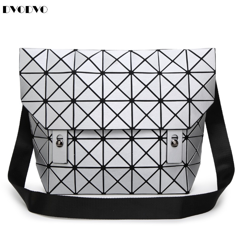 DVODVO women Handbag BaoBao Bag Female Folded Geometric Plaid Bag BAO BAO Fashion Casual Tote Women Handbag Mochila Shoulder Bag baobao bag women folded geometric plaid bag bao bao fashion casual tote women handbag mochila shoulder bag top handle sac a main