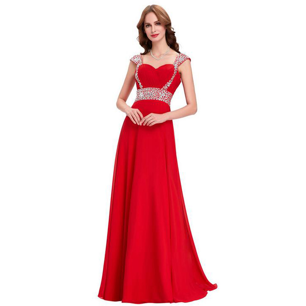 Chiffon Mother and Daughter Clothes Sleeveless Women Evening Dress For Party and Evening Gowns A-Line Prom Dresses For Women stylish irregular hem sweetheart neckline sleeveless chiffon dress for women