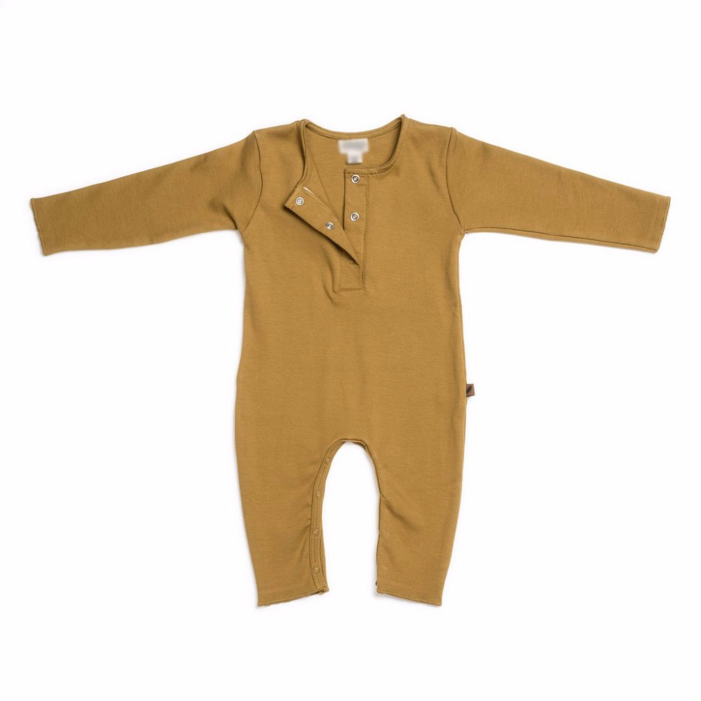 Retail  2018 new autumn  long sleeve  baby romper Ready  Stock