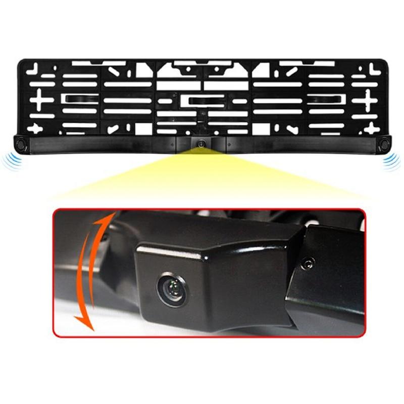 GreenYi Night Vision European License Plate Frame Video Parking ...