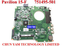 NEW ORIGINAL LAPTOP NOTEBOOK MOTHERBOARD SYSTEM BOARD 751495-501 FOR HP PAVILION TOUCHSMART 15 15-F INTEL W/ N2830 CPU SERIES