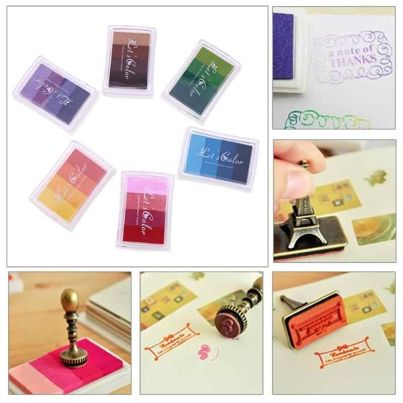 Diverse DIY Scrapbooking Vintage Crafts Ink pad Colorful Inkpad Stamps Sealing Decoration Stamp Paint Wedding Decoration
