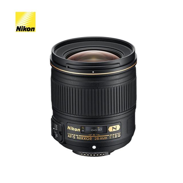Nikon AF S Nikkor 28mm f/1.8G gran angular De Lente de Enfoque 135mm ...