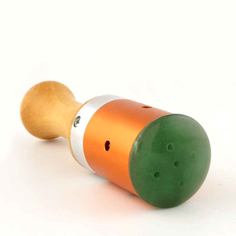 Jade Moxibustion Massage Stick Scrollable Warm Moxa Wood Handle For Eye Face Ears font b Health