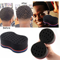 4Pcs Hair Brush Sponge for Dreads Magic Wave Barber Dreads Locks Twist Curls Coil Magic Tool