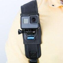 Rotativa Cinto Mochila Câmera de Montagem Braçadeira de Liberação Rápida para GoPro Hero SJCAM 6 Xiaomi Yi SJ4000 Sony Nova Chegada