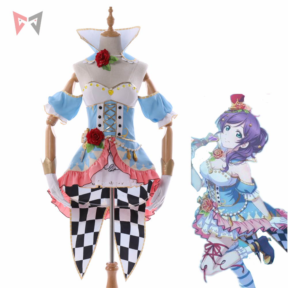 MMGG love live cosplay nozomi tojo cosplay costume new LoveLive Sunshine cosplay set custom made size