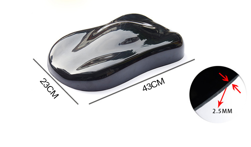 Image 3 - 43*22cm Plasti Dip Display Model Plastid Car Speed Shape For Vinyl / Dip Paint Colors Displaying MO A6-in Car Stickers from Automobiles & Motorcycles