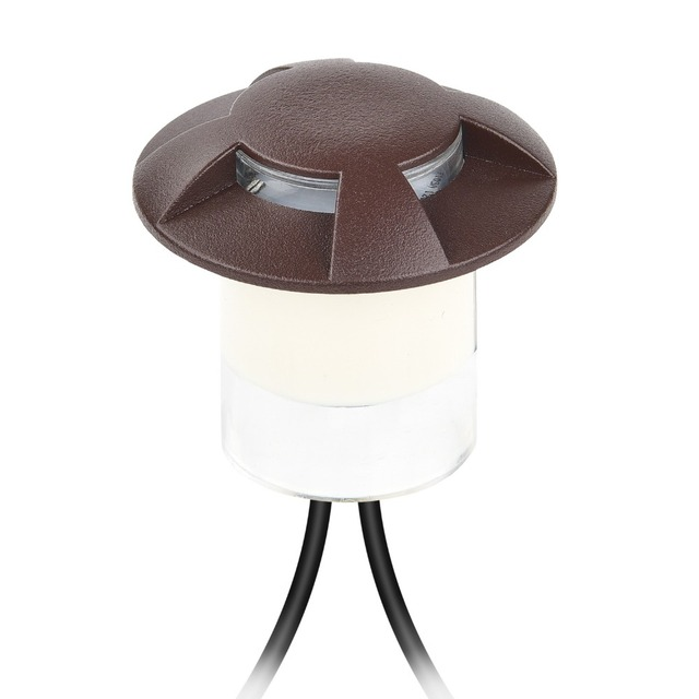 Us 11 77 8 Off 4 Styles Recessed Deck Floor Ground Spot Lights Dc12v Ac100 240v Brown Pc Garden Patio Decoration Lamp With Embedded Part F109 In Led